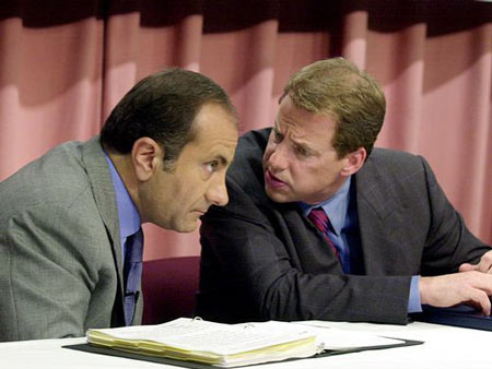 Jacques Nasser, 1999-2001. Nassar, seen here with Bill Ford Jr., lasted less than two years as CEO, amid conflicts with dealers and employees and the Firestone rollover crisis that led to a recall of 20 million tires.  Jeff Kowalsky, AFP/Getty Images