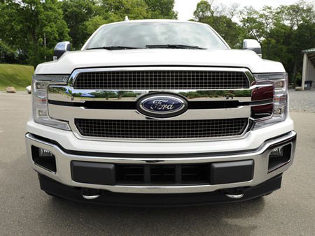 The grille of the F-150 King Ranch series. (Photo: Jose Juarez / Special to Detroit News)