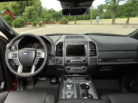 Interior of the Ford Expedition XLT. (Photo: Jose Juarez / Special to Detroit News)