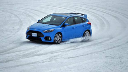 The Ford Focus RS, dubbed the company's Euro-market hero, can go from smooth rider to gearhead's dream.