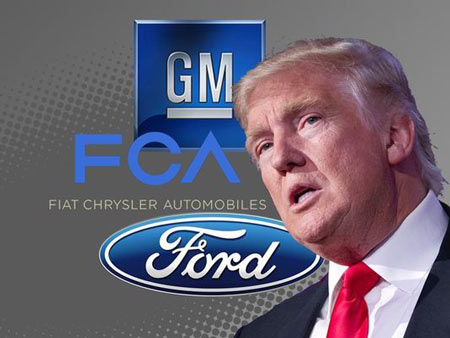 Groups that lobby in Washington for Detroit's automakers and their foreign-based counterparts, as well as car part manufacturers and dealerships, have banded together to fight President Donald Trump's proposed changes to the North American Free Trade Agreement.