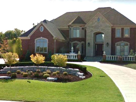 Alphons Iacobelli's home in Rochester Hills (Photo: Google)