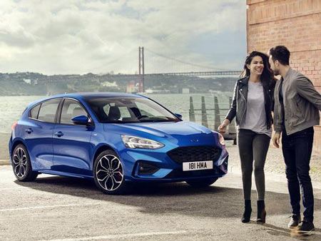 This is European version of the 2019 Ford Focus ST. Ford has not said what versions of the Focus will be sold in the U.S.
