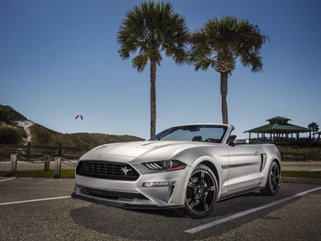 Ford Motor Co. will bring back the Mustang GT California Special for the 2019 model year.