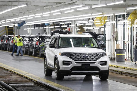 Ford profits slid 86% in the second quarter as the automaker continues to spend billions to restructure its global business. Expenses related to the introduction of the new Ford Explorer temporarily hurt the bottom line. (Photo: Tribune News Service)