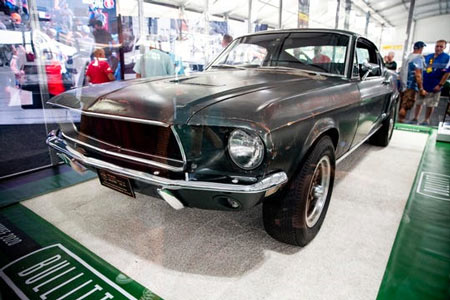 "A 1968 Ford Mustang from the movie ""Bullitt"" sold for $3.74 million Friday. (Photo: Patrick Connolly, AP)"