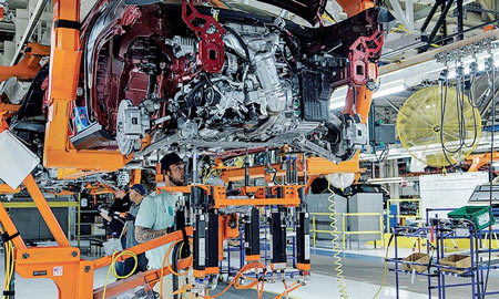 FCA invested $350 million in the Belvidere plant to produce the Cherokee starting in 2017. The vehicle had a 97-day supply Jan. 1.