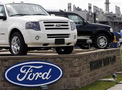 Ford said Friday Nov. 7, 2008 that it lost $129 million (U.S.) in the third quarter as the stuggling automaker burned up $7.7 billion in cash.