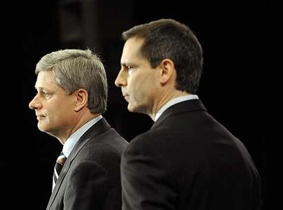 Prime Minister Stephen Harper and Premier Dalton McGuinty say all stakeholders will need to cut costs soon.