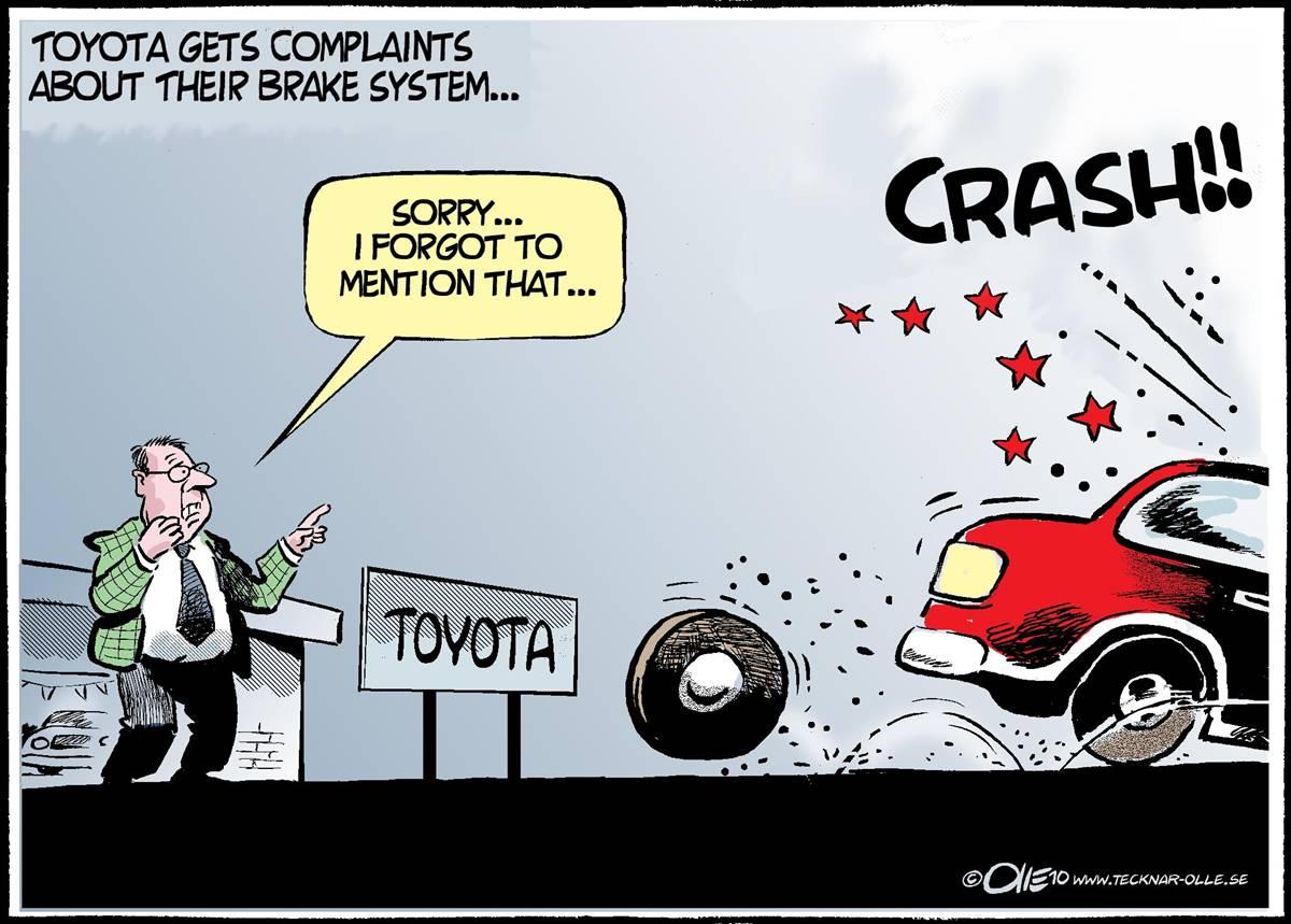 Toyota Recall Cartoons