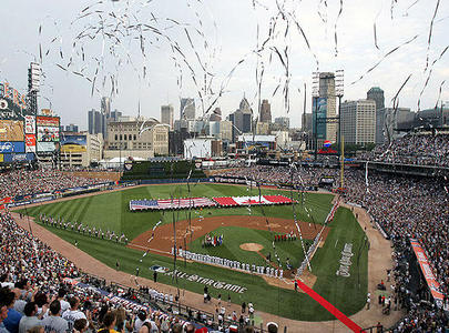 Home of the Detroit Tigers, Comerica Park, was opened in 2000 and was the spark for other downtown renewal projects.