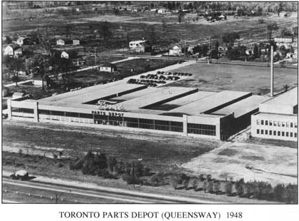 Queensway Ford Depot